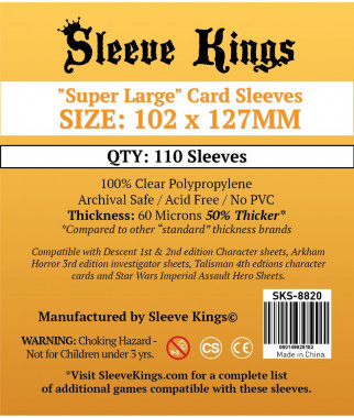 Sleeve Kings, 102x127mm